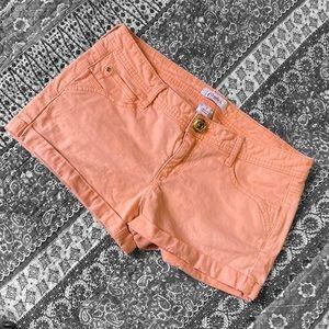 🖤 Candies peach shorts